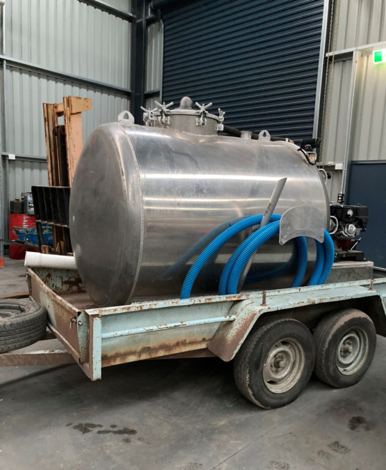 Septic Tank Waste Carrier - Plendrive in Victoria